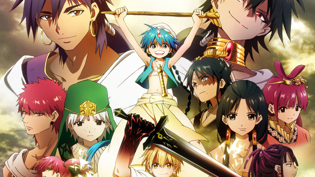 magi the labyrinth of magic stream